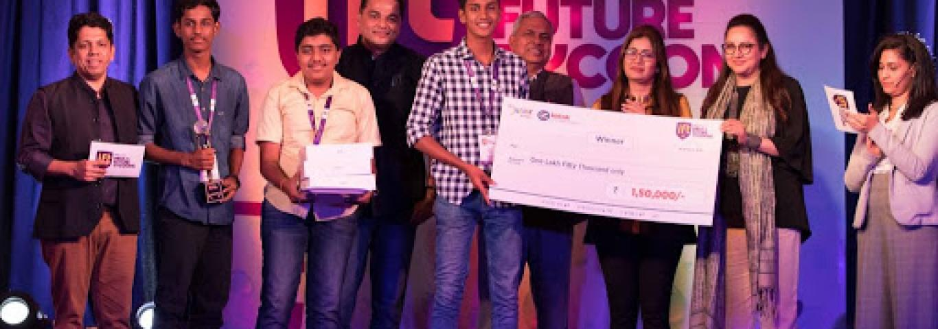 Master Suhas, Master Prajwal and Master Taran of Kendriya Vidyalaya Mysuru won First position in ENpower's India's Future Tycoons - Season 2 (IFT #2) grand finale was held in Mumbai. They won Rs 1.5 Lakhs, Ipads and other accessories. The winning team 'Achelous', built a prototype to extract 'activated carbon' from plastic waste